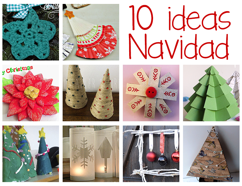10 ideas manualidades de navidad papelisimo for Ideas de decoracion navidena
