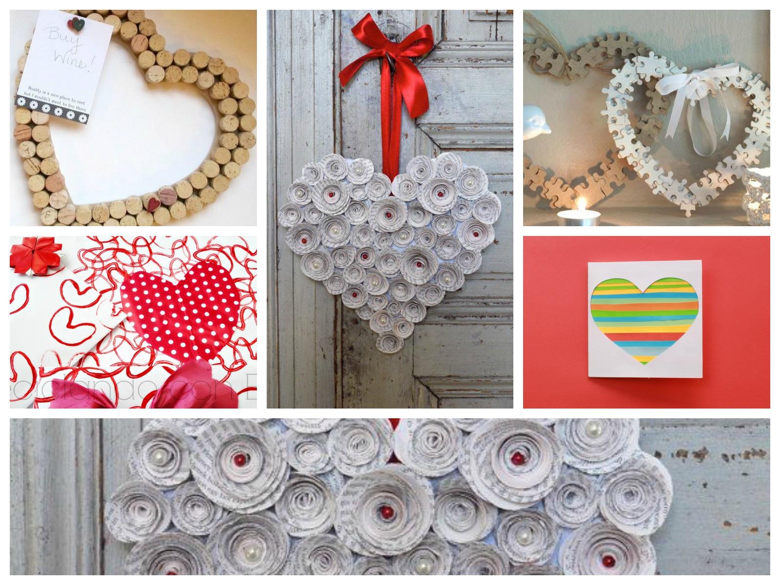 Regalos de san valent n con materiales de reciclaje - Como hacer adornos de san valentin ...
