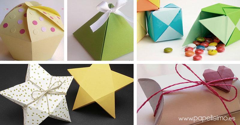 Cajas De Papel Para Regalo De Cumpleanos O Navidad - Manualidades-originales-para-regalar-en-cumpleaos