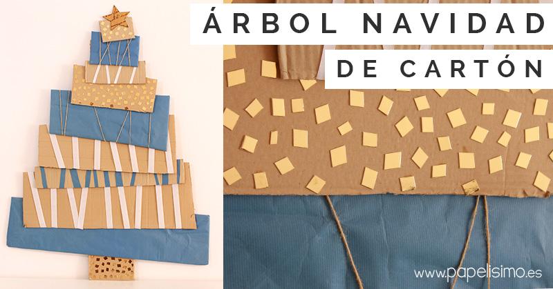Arbol-Navidad-de-Carton-Cardboard-Christmas-Tree
