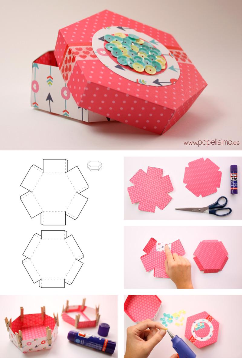 Como-hacer-caja-hexagono-hexagon-box