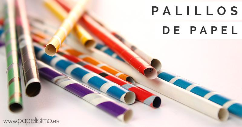Como-hacer-palillos-de-papel-Paper-sticks