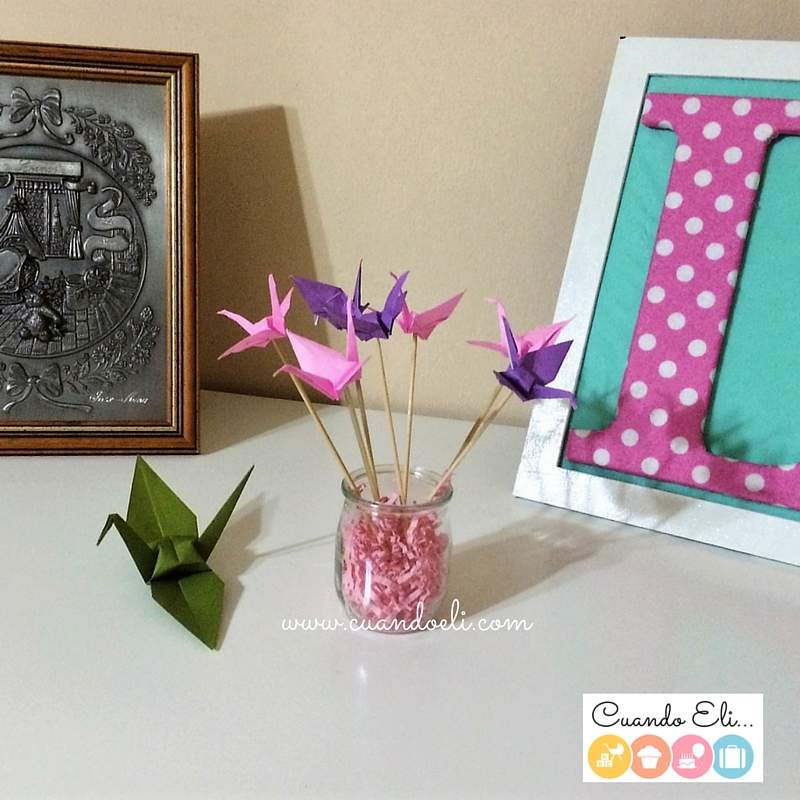 Grullas-de-papel-bouquet-para-decorar
