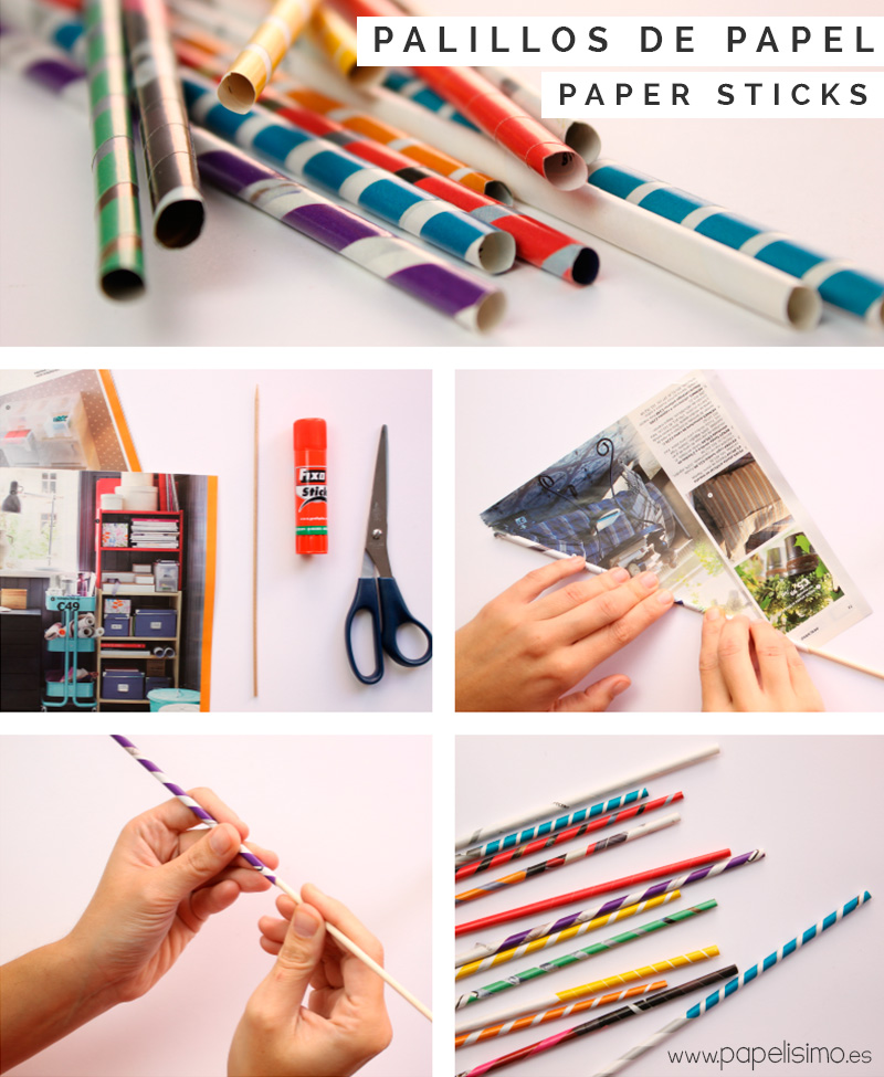 Palillos-de-papel-Paper-sticks