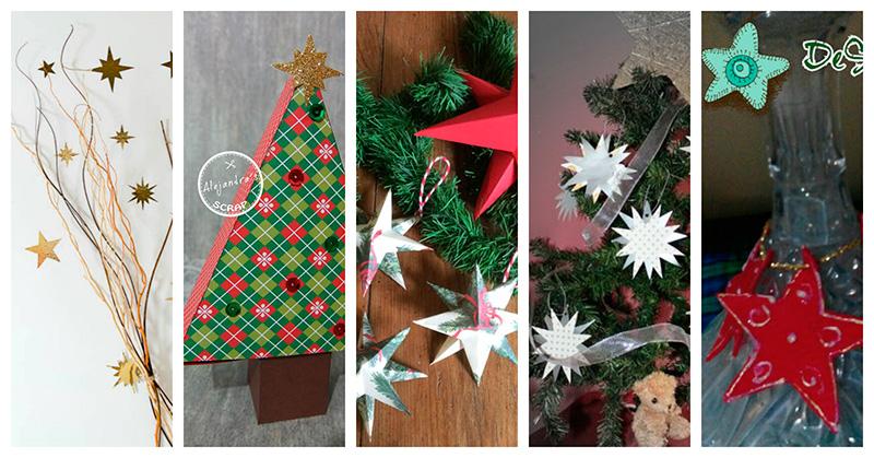 5-manualidades-con-estrellas-de-navidad