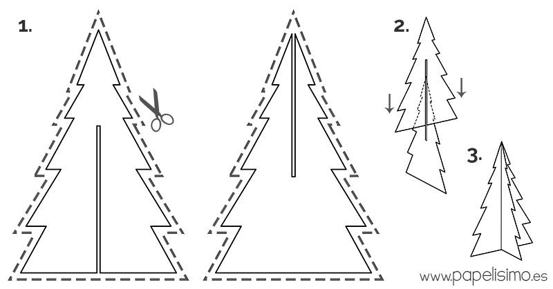Arbol-de-Navidad-con-caja-de-carton-Cardboard-Christmas-tree