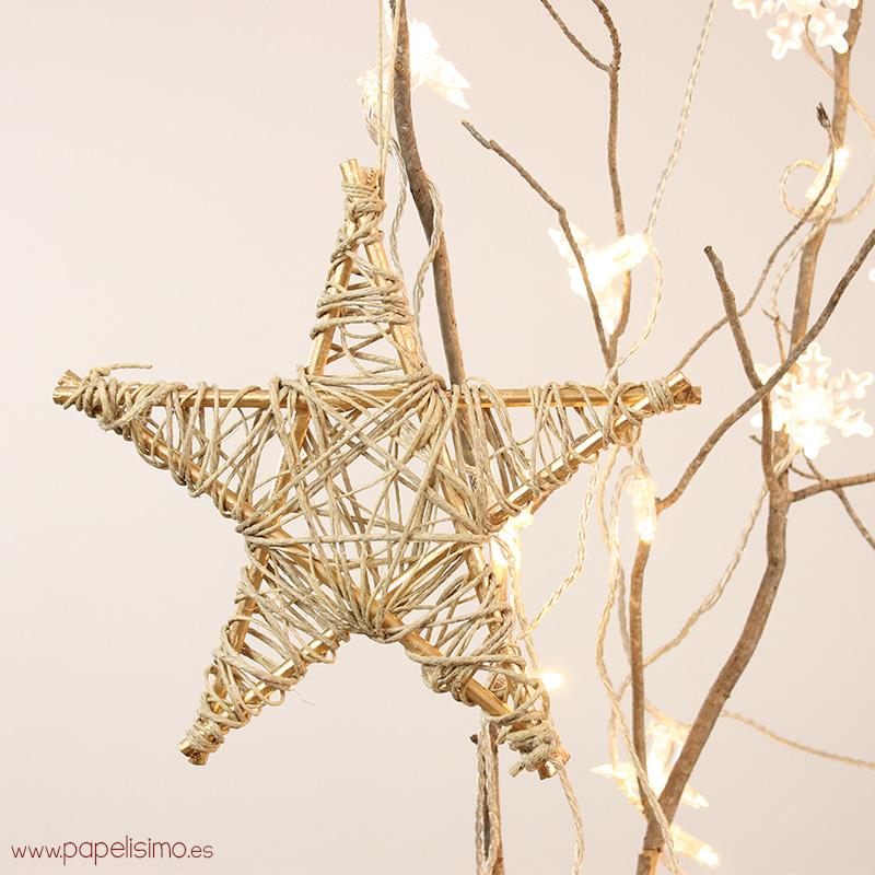 c mo hacer estrellas para rbol de navidad manualidades