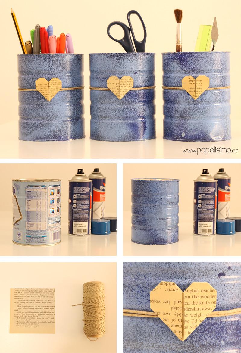 Organizador-con-latas-de-leche-DIY-cans