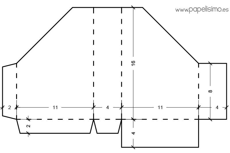 Plantilla-con-medidas-Album-de-fotos-acordeon-Scrapbooking