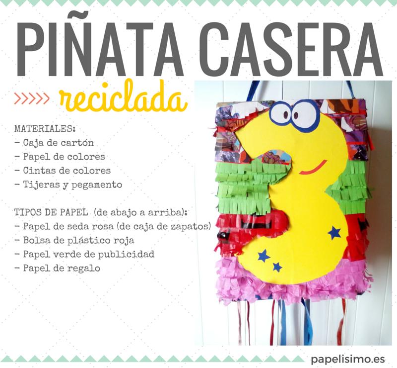 Cómo Hacer Piñatas Caseras Y Recicladas Papelisimo