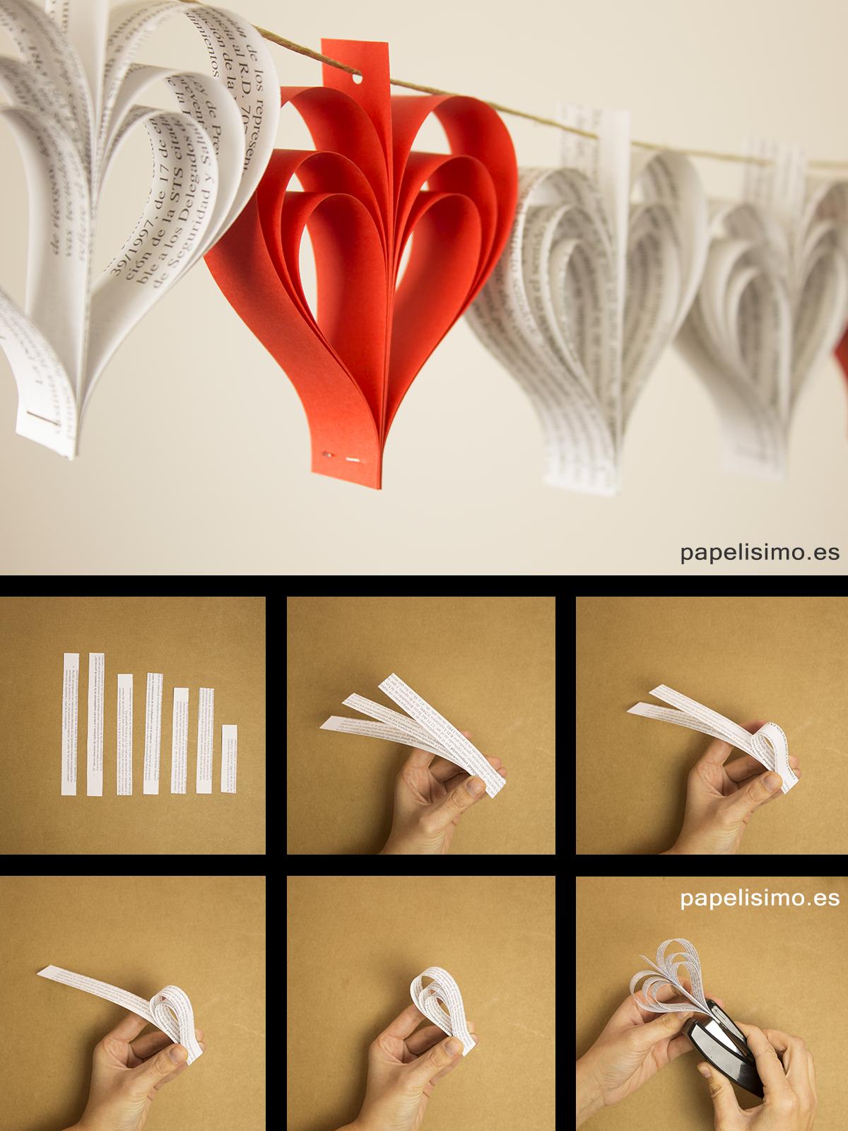 Guirlanda de papel guirlandas de papel diy