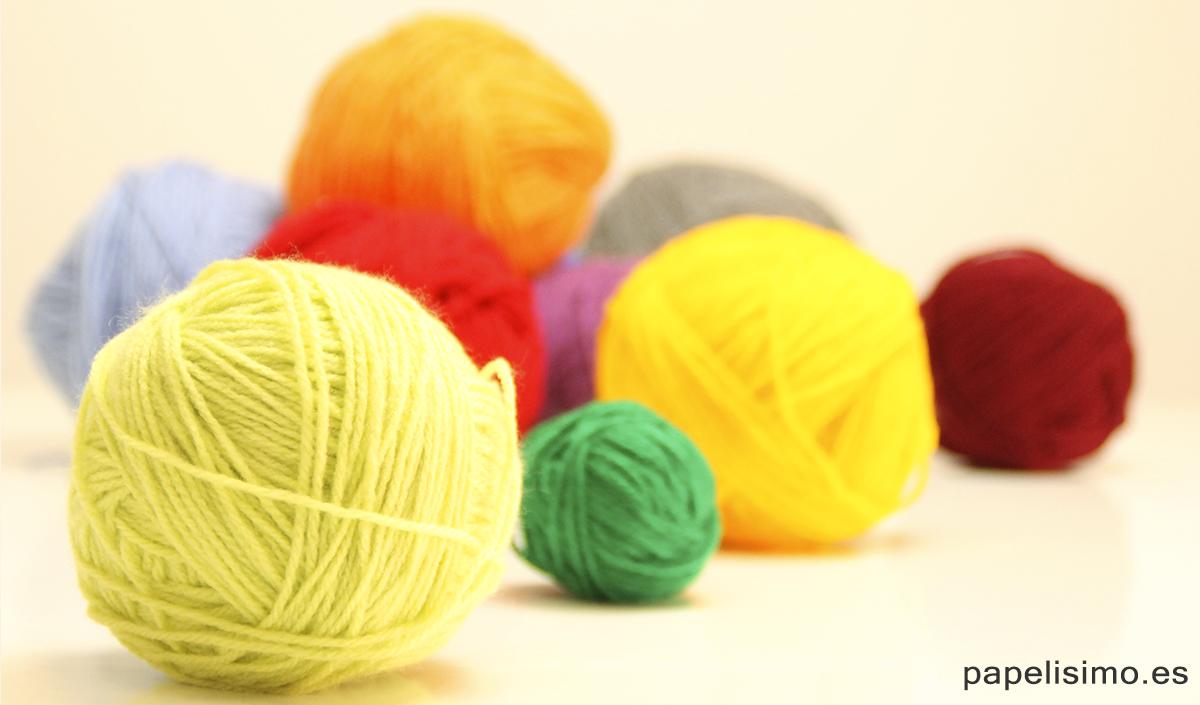 Bolas de bolas de lã
