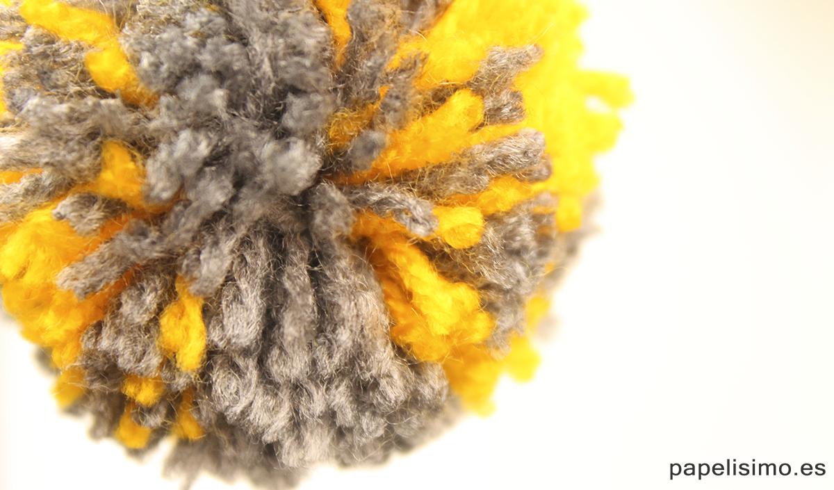 Pompones de lana Yarn Pom Poms